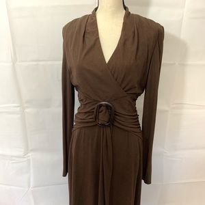 Brown dress size 12 by Kay Unger